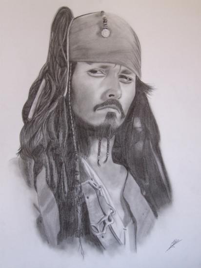 Johnny Depp by midoriakira